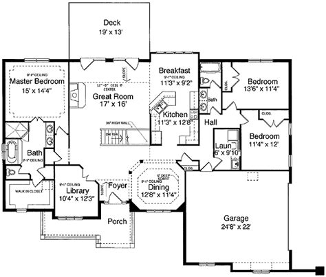 finished basement house plans house plans with finished basement 7 one level house floor plans smalltowndjs
