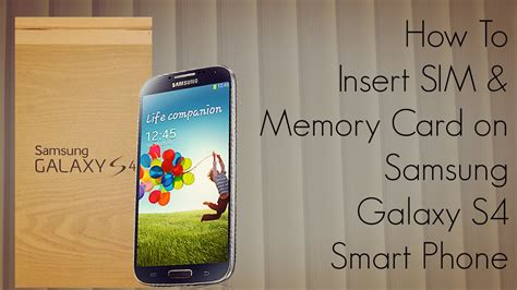 how to make phone use sd card how to insert sim memory card on samsung galaxy s4 smart