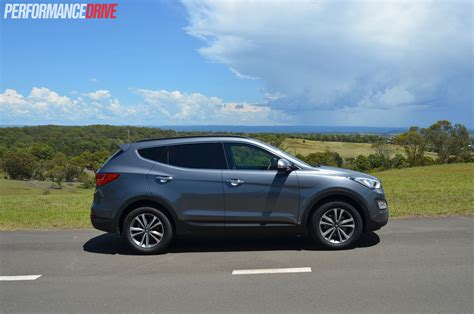 Hyundai Santa Fe 2015 by 2015 Hyundai Santa Fe Elite Review Performancedrive