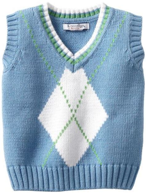 how to knit a baby sweater vest pin by jean rawson on knits
