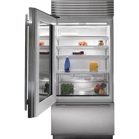sub zero glass door subzero bi 36ug o 36 quot built in glass door and