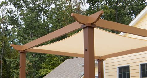 pergola shade canopy tensioned shade sail pergola canopy structureworks