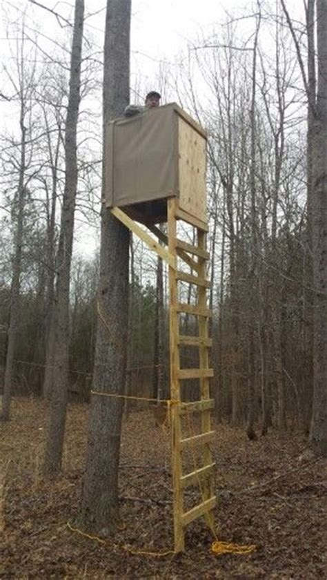 tree stand plans best 25 deer stand plans ideas on