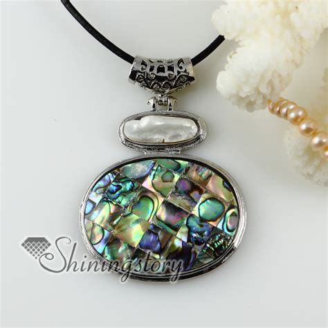 how to make abalone shell jewelry oval patchwork white oyster shell rainbow abalone shell