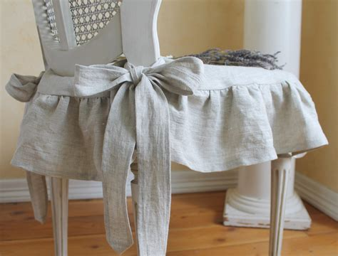 shabby chic chair slipcover shabby chic slipcover the ruffled linen chair
