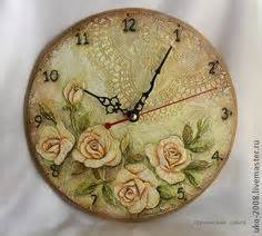 decoupage clock 1000 images about decoupage on decoupage