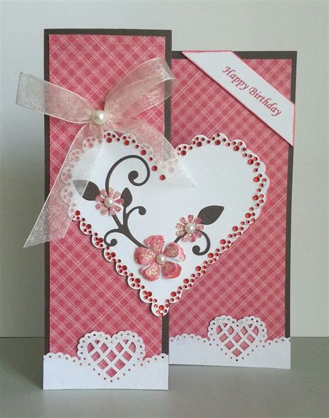 how to make a card for your crush handmade greeting cards paper blossoms