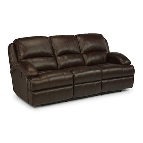 flexsteel leather sofas flexsteel 1242 62p fast leather power reclining sofa discount furniture at hickory park