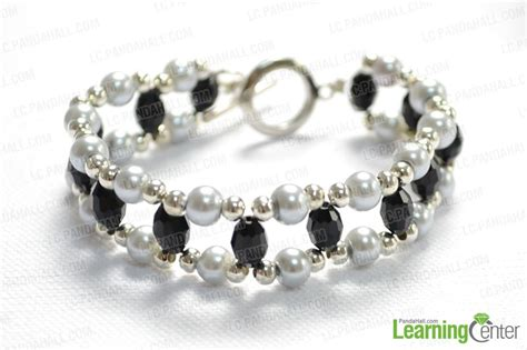 how to make bead bracelets for make a diy beaded bracelet with easy beading patterns
