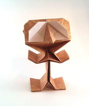 origami puppets riki saito gilad s origami page