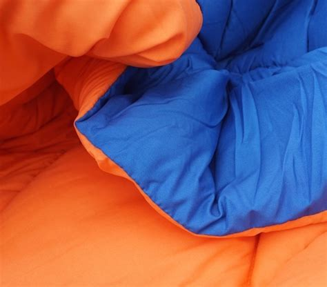 orange and blue comforter set blue orange reversible college comforter xl cool