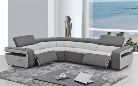 sectional sofas modern modern sectional sofa recliner