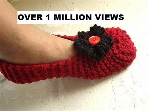 easy knitted slippers for beginners knitted slippers for beginners free knitting for