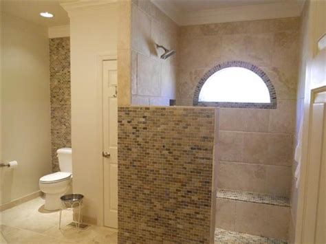 shower stall designs without doors shower without door bathroom redo the o