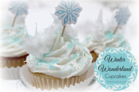 Frosting Decorations by Winter Wonderland Cupcakes Day To Day Dreams