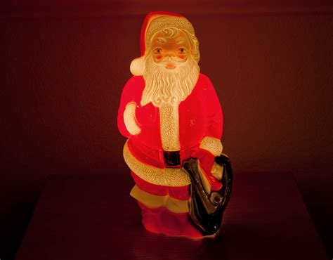 up santas finds of the century 1960 s empire plastic light up santa