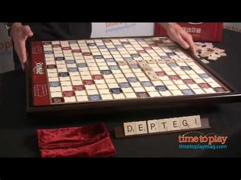 deluxe scrabble scrabble deluxe edition from winning solutions