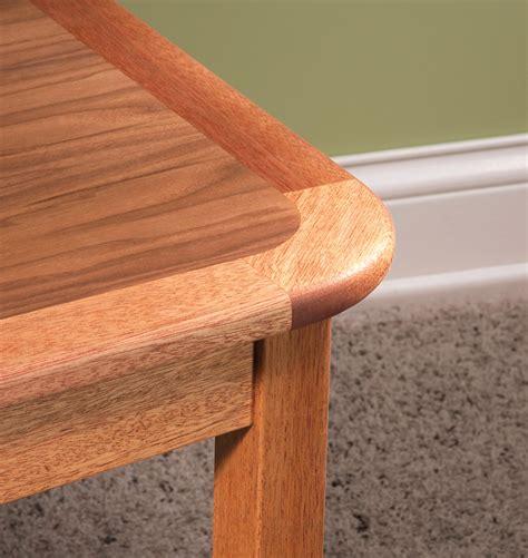 woodworking corners curved corner edging popular woodworking magazine