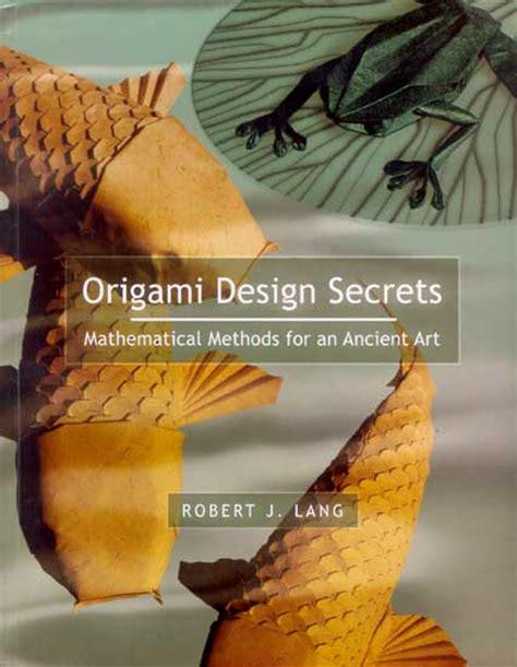 origami design secrets origami design secrets