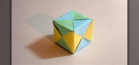 origami out of paper how to make a cube from folded paper with origami