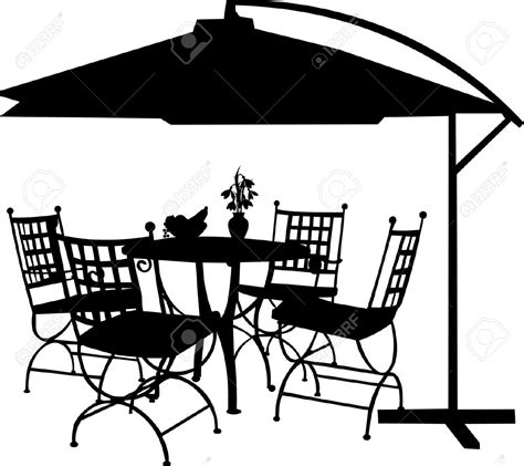 backyard table and chairs backyard garden tables and chairs with a clipart
