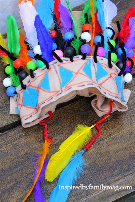 india crafts for american craft for chief headdress