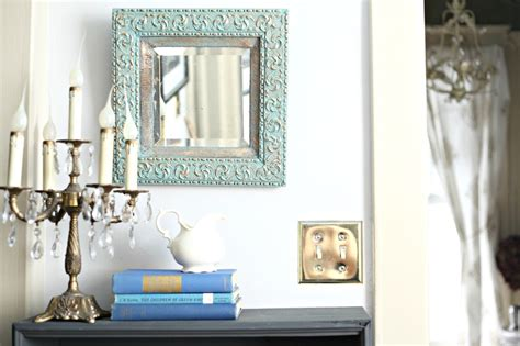 diy chalk paint mirror diy sloan chalk paint an antique mirror