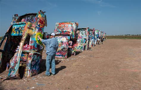 The Cadillac Ranch by Cadillac Ranch My Wyoming Adventure