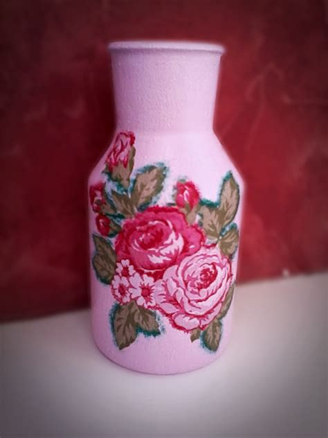 how to decoupage a vase decoupage vase by coralqueen on deviantart
