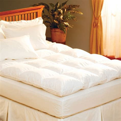 feather bed featherbed mattress topper 100 mattress topper