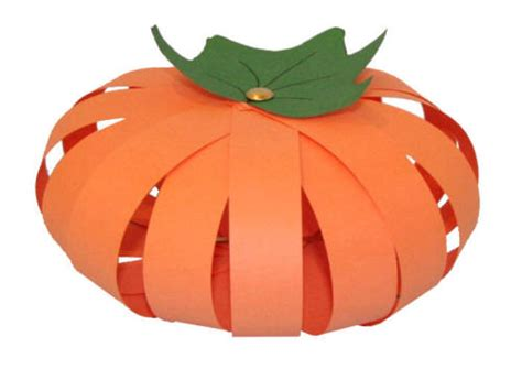 paper pumpkin craft paper pumpkin craft