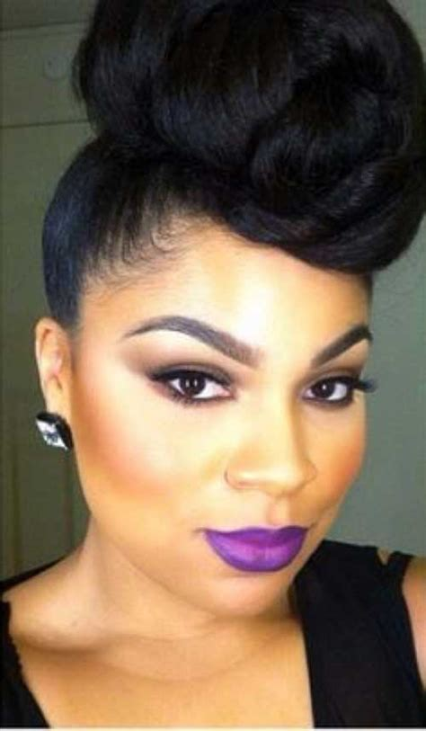 black hair buns 25 wedding hairstyles for black women long hairstyles