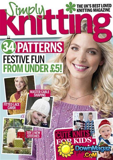 simply knitting simply knitting december 2016 187 pdf magazines