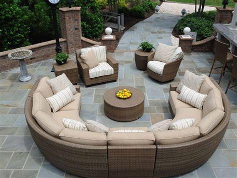 circular outdoor furniture circular patio furniture home outdoor
