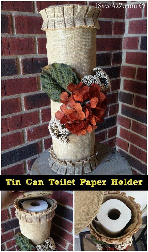 toilet paper holder crafts for tin can toilet paper holder isavea2z can crafts