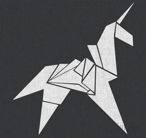 blade runner unicorn origami origami unicorn blade runner