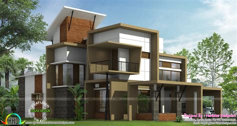 modern contemporary home plans modern ultra contemporary house kerala home design and floor plans