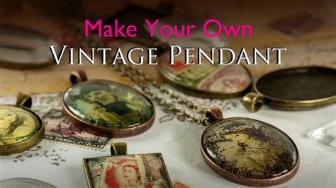 how to make glass jewelry make your own vintage pendant glass tile tray vintage