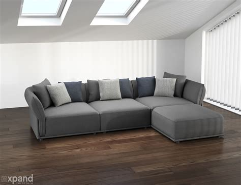 modern modular sofas stratus sofa modern modular sectional set of 5 expand
