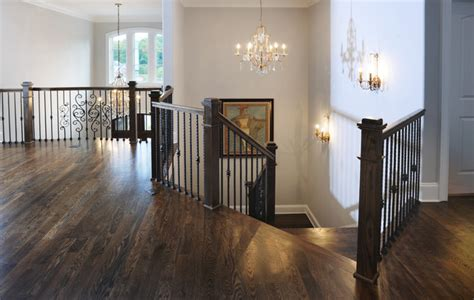 Home Wall Decor And Accents second level foyer traditional hall nashville