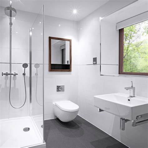 White Tile Bathroom by Only 10 M2 White Gloss Rectified Edge Ceramic Wall Tile