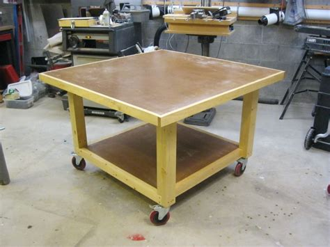woodworking assembly table assembly table by lockwatcher lumberjocks