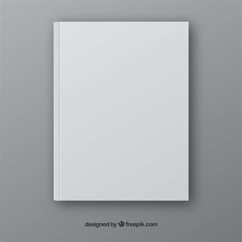 book free realistic book template in front side vector free