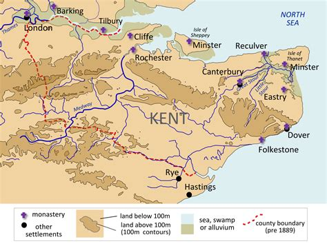 in kent kingdom of kent