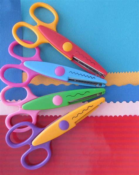 craft scissors for craft scissors 4 different patterns stainless steel blade