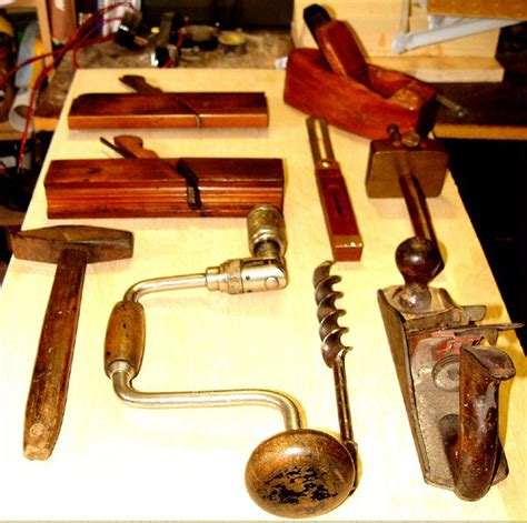 traditional woodworker the museum of yesterday collection of antique tools