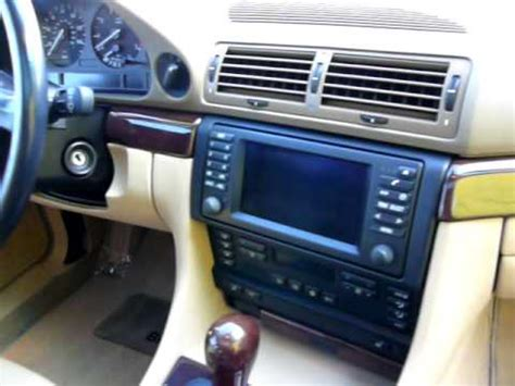 automotive air conditioning repair 2001 bmw 530 navigation system 2001 bmw 740il youtube