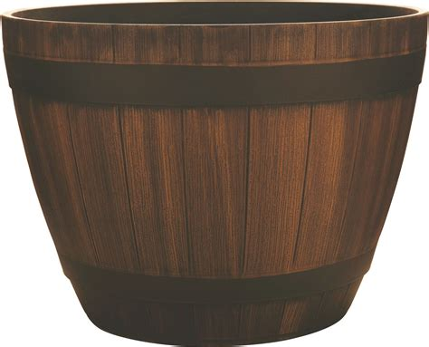 southern patio planters southern patio hdr wine barrel planter ebay