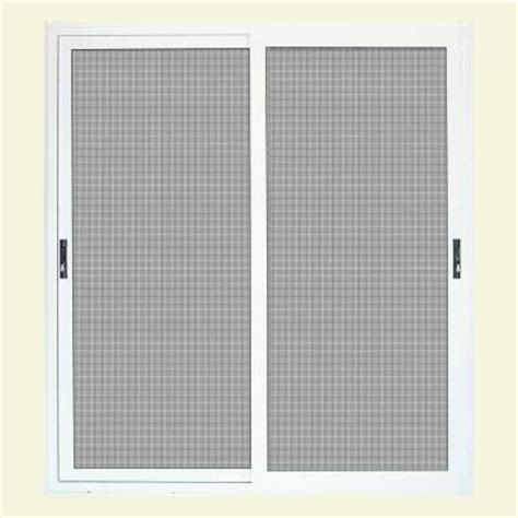 sliding patio screen doors home depot unique home designs 72 in x 80 in white surface mount sliding patio security door with meshtec