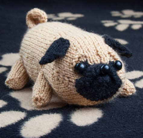 knitted pug pattern knitting patterns in the loop knitting
